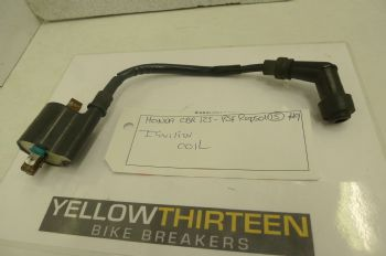 HONDA CBR125 RSF  IGNITION COIL + HT LEAD/CAP  #9 (CON-B)